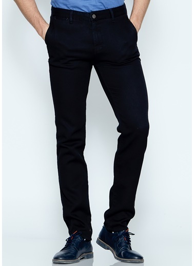 Slim Fit Kanvas Pantolon-Adze